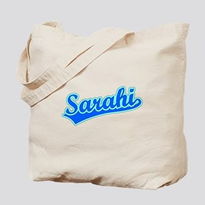 Retro Sarahi (Blue) Tote Bag